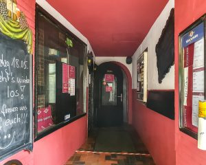 Klimperkiste Eingang